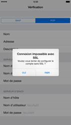 Apple iPhone 6 Plus - iOS 8 - E-mail - configuration manuelle - Étape 14