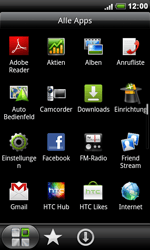 HTC S510e Desire S - Internet - Manuelle Konfiguration - Schritt 3