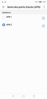 Huawei P20 - Internet et roaming de données - Configuration manuelle - Étape 16