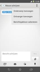 Sony C6903 Xperia Z1 - MMS - hoe te versturen - Stap 11
