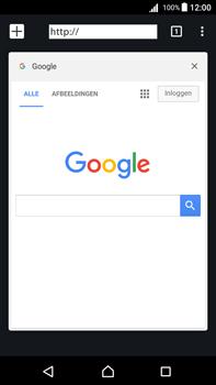 Sony Xperia Z5 Premium - Android Nougat - Internet - internetten - Stap 15