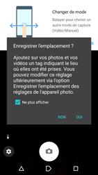 Sony Xperia X - Photos, vidéos, musique - Prendre une photo - Étape 4