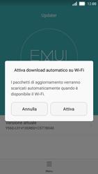 Huawei Y5 - Software - Installazione degli aggiornamenti software - Fase 4