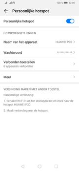 Huawei P30 - Internet - Stel mobiele hotspot in - Stap 10