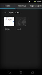 Sony Xperia T - Internet et roaming de données - Navigation sur Internet - Étape 10