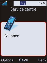 Sony W595 - SMS - Manual configuration - Step 8