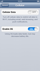 Apple iPhone 5 - Internet - Manual configuration - Step 5