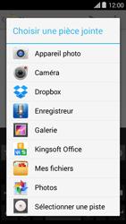 Bouygues Telecom Ultym 5 II - E-mails - Envoyer un e-mail - Étape 12