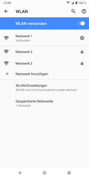 Sony Xperia XZ3 - WLAN - Manuelle Konfiguration - Schritt 9