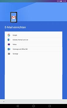 Huawei MediaPad T1 (10.0) LTE - E-Mail - Konto einrichten (gmail) - Schritt 7