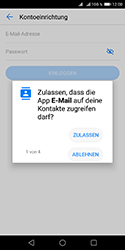 Huawei Y5 (2018) - E-Mail - Konto einrichten - Schritt 6