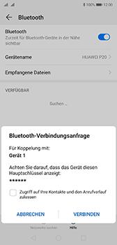 Huawei P20 - Android Pie - Bluetooth - Geräte koppeln - Schritt 9