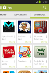 Samsung Galaxy Fame Lite - Applicazioni - Installazione delle applicazioni - Fase 12