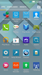 Alcatel One Touch Idol Mini - Network - Manual network selection - Step 5