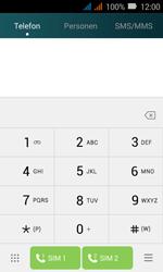 Huawei Y3 - Anrufe - Rufumleitungen setzen und löschen - Schritt 3