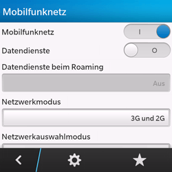 BlackBerry Q10 - Internet und Datenroaming - Manuelle Konfiguration - Schritt 6