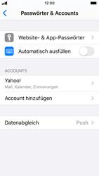 Apple iPhone SE - iOS 13 - E-Mail - Konto einrichten (yahoo) - Schritt 9