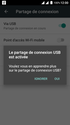 Wiko Freddy - Internet et connexion - Utiliser le mode modem par USB - Étape 8