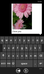 Nokia Lumia 630 - MMS - Sending pictures - Step 12