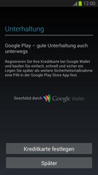 Samsung Galaxy S III - OS 4-1 JB - Apps - Konto anlegen und einrichten - 1 / 1