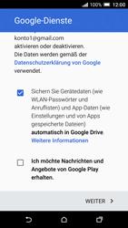 HTC One A9 - Apps - Konto anlegen und einrichten - 18 / 22