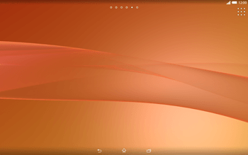 Sony Xperia Tablet Z2 LTE - Prise en main - Installation de widgets et d