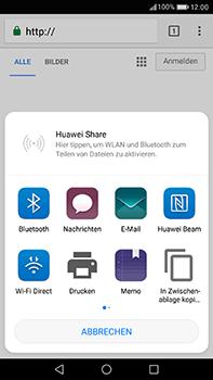 Huawei P10 Plus - Internet und Datenroaming - Verwenden des Internets - Schritt 21