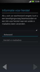 HTC One - Applicaties - Account instellen - Stap 14
