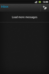Sony ST27i Xperia Go - E-mail - Sending emails - Step 13