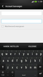 HTC One Mini - E-mail - Account instellen (IMAP met SMTP-verificatie) - Stap 7