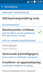 Samsung Galaxy J1 (SM-J100H) - Beveiliging en ouderlijk toezicht - Hoe wijzig ik mijn SIM PIN-code - Stap 5