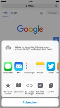 Apple iPhone 6s Plus - Internet und Datenroaming - Verwenden des Internets - Schritt 7