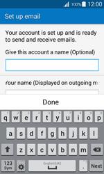 Samsung G357 Galaxy Ace 4 - E-mail - Manual configuration IMAP without SMTP verification - Step 20