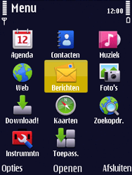 Nokia N86 - SMS - Handmatig instellen - Stap 3
