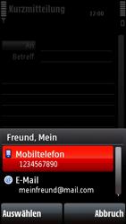 Nokia 5800 Xpress Music - MMS - Erstellen und senden - 1 / 1