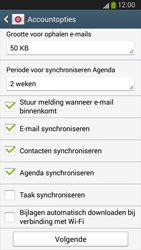 Samsung I9300 Galaxy S III - E-mail - 032c. Email wizard - Outlook - Stap 10