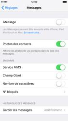 Apple iPhone 6 iOS 10 - iOS features - Envoyer un iMessage - Étape 4
