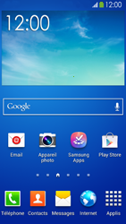 Samsung Galaxy S 4 Active - Applications - Configuration de votre store d