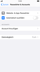 Apple iPhone 8 - iOS 13 - E-Mail - Konto einrichten (outlook) - Schritt 4