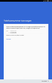 Samsung Galaxy Tab A 10.1 (SM-T585) - Applicaties - Account aanmaken - Stap 14