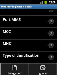 Samsung S5360 Galaxy Y - MMS - Configuration manuelle - Étape 11