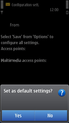 Nokia N8-00 - MMS - Automatic configuration - Step 6