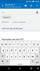 HTC One A9 - e-mail - hoe te versturen - stap 9