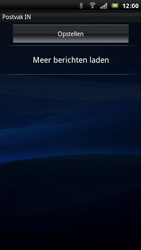 Sony Ericsson Xperia Arc - E-mail - e-mail instellen: POP3 - Stap 4
