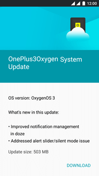 OnePlus 3 - Device - Software update - Step 6