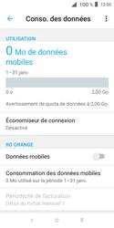 Alcatel 1X - Internet et connexion - Désactiver la connexion Internet - Étape 7
