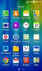 Samsung J100H Galaxy J1 - SMS - Manuelle Konfiguration - Schritt 3