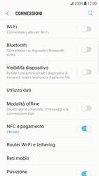 Samsung Galaxy S6 Edge - Android Nougat - WiFi - Configurazione WiFi - Fase 5