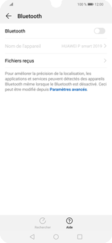 Huawei P Smart (2019) - Internet et connexion - Connexion avec un équipement multimédia via Bluetooth - Étape 6