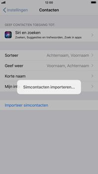 Apple iphone-8-plus-met-ios-12-model-a1897 - Contacten en data - Contacten kopiëren van SIM naar toestel - Stap 5